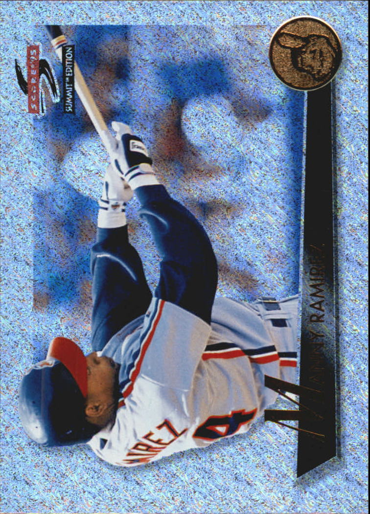 1995 Summit Nth Degree #18 Manny Ramirez