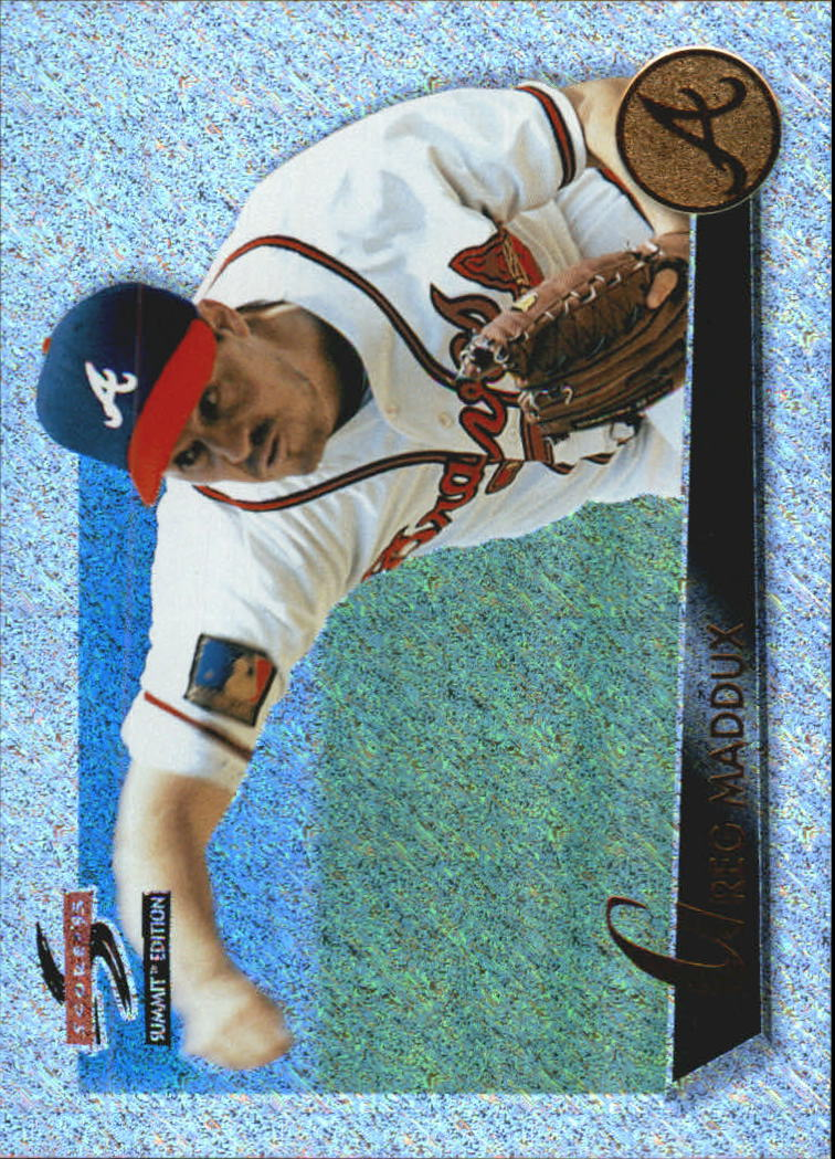 1995 Summit Nth Degree #30 Greg Maddux