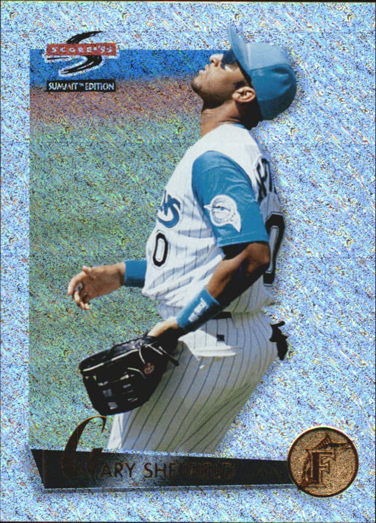 1995 Summit Nth Degree #43 Gary Sheffield