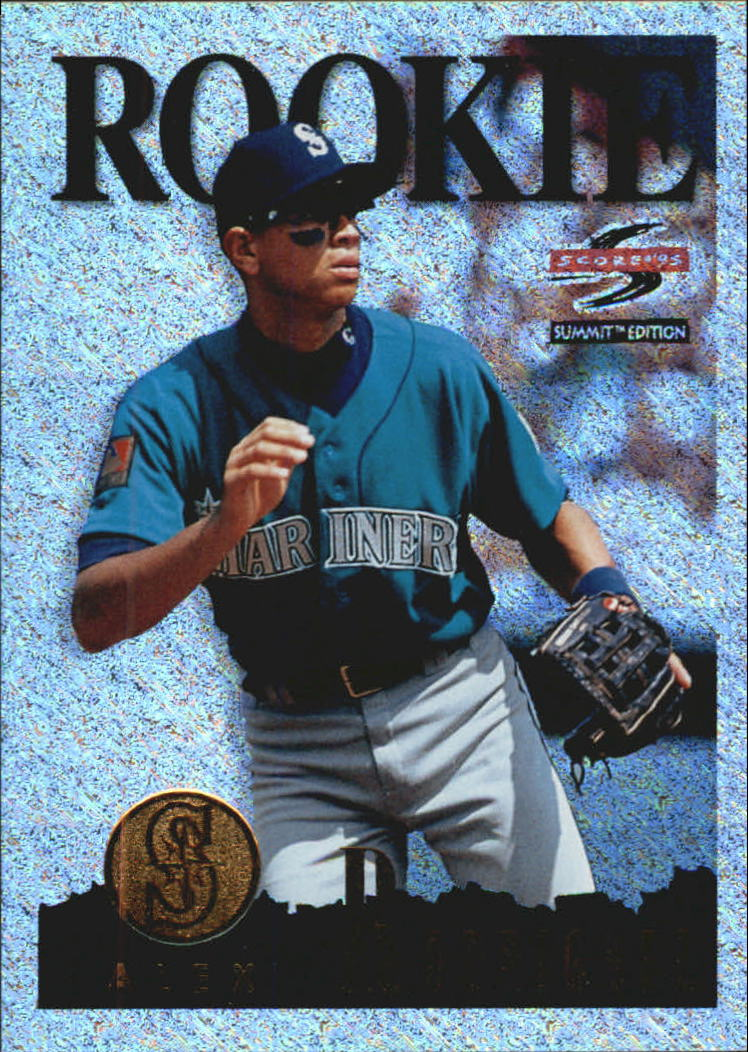 1995 Summit Nth Degree #133 Alex Rodriguez