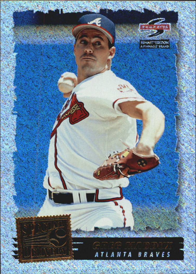 1995 Summit Nth Degree #189 Greg Maddux SPD