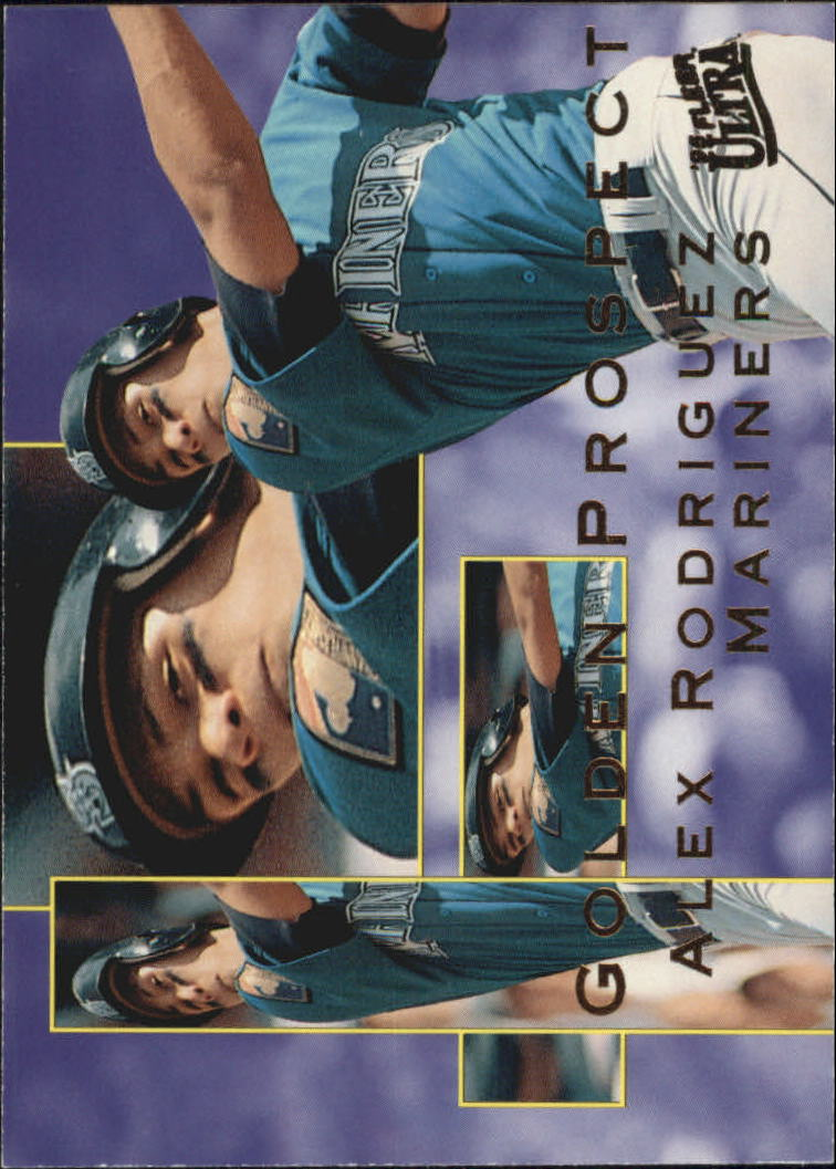 1995 Ultra Golden Prospects #9 Alex Rodriguez