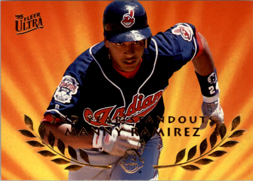 1995 Ultra Second Year Standouts #11 Manny Ramirez