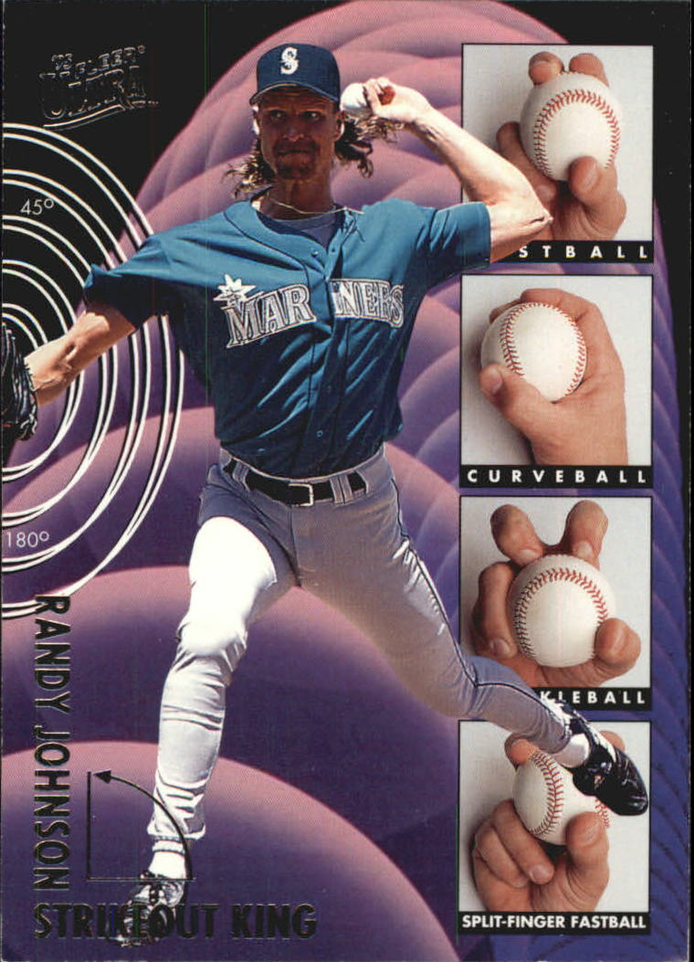 1995 Ultra Strikeout Kings #3 Randy Johnson