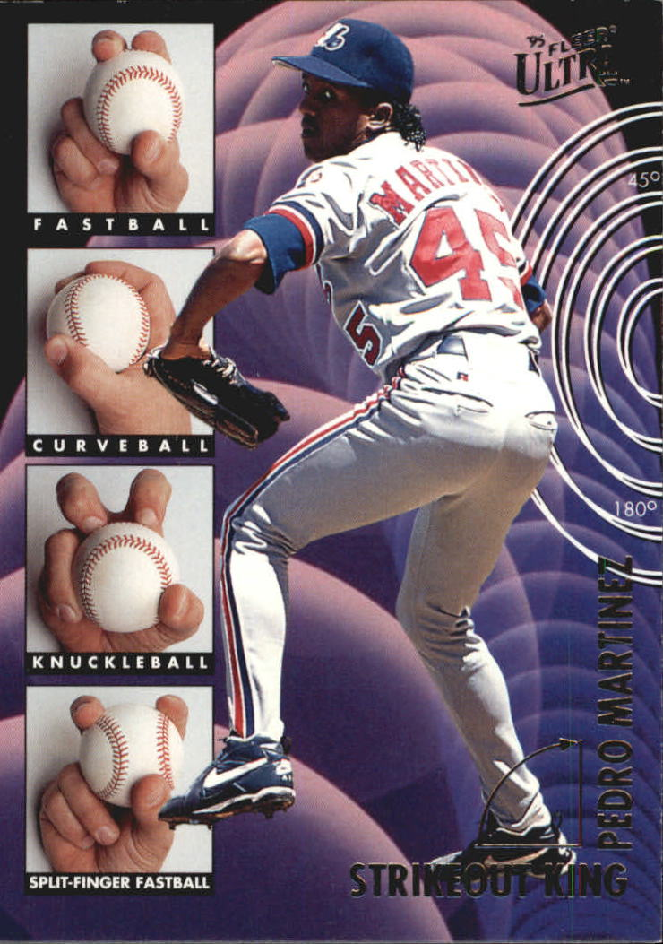 1995 Ultra Strikeout Kings #5 Pedro Martinez