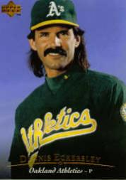 1995 Upper Deck #34 Dennis Eckersley