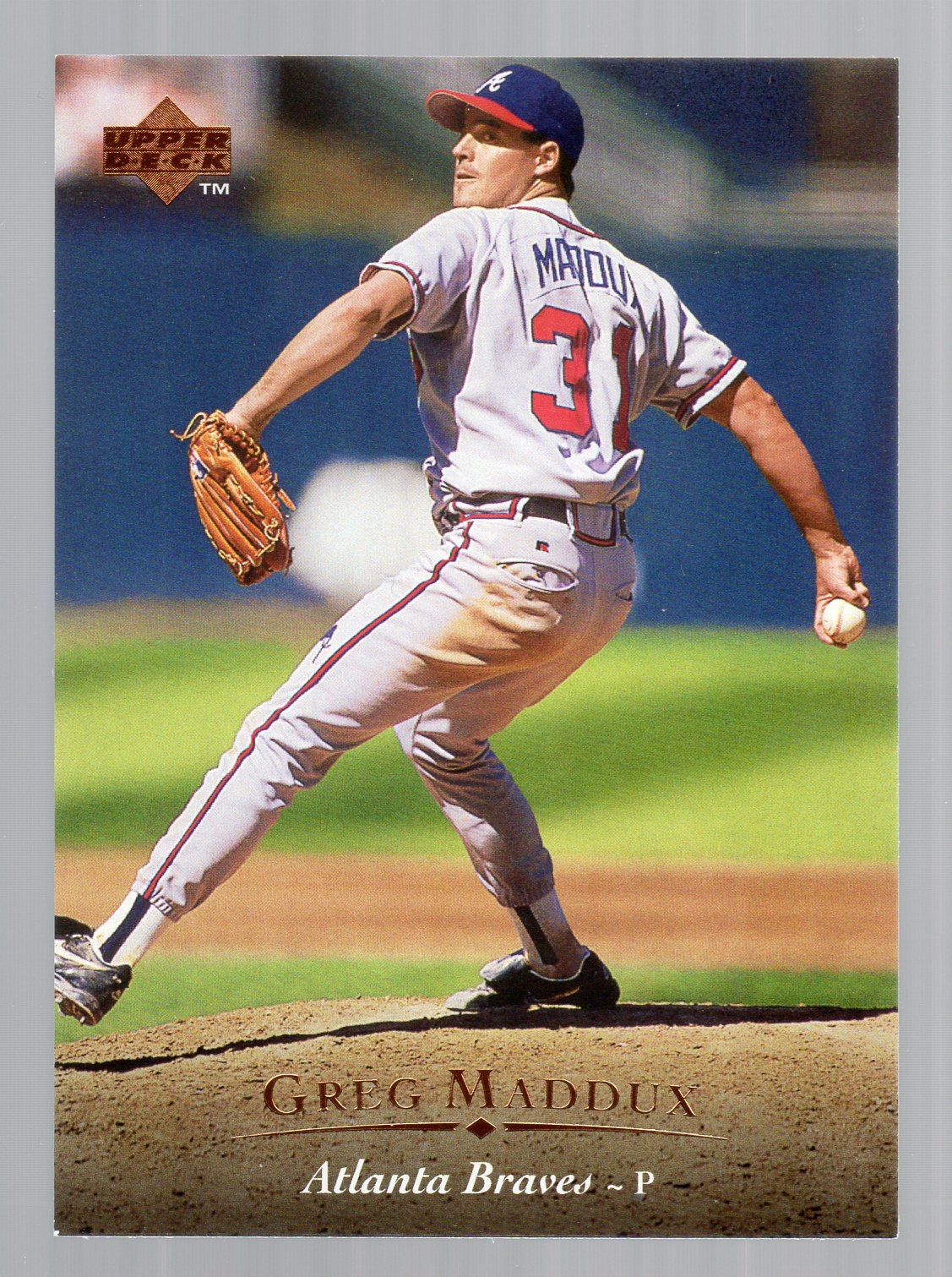 1995 Upper Deck #49 Greg Maddux