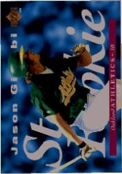 1995 Upper Deck #222 Jason Giambi