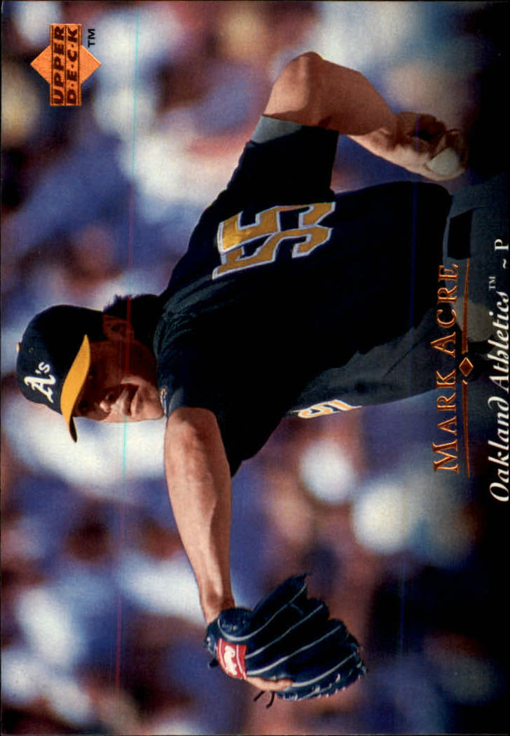 1995 Upper Deck #279 Mark Acre