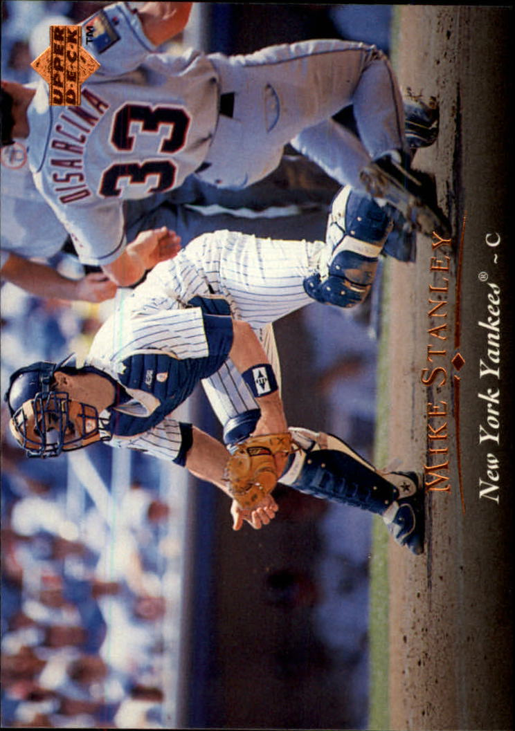 1995 Upper Deck #443 Mike Stanley
