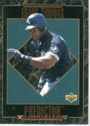 1995 Upper Deck Predictor League Leaders #R25 Frank Thomas