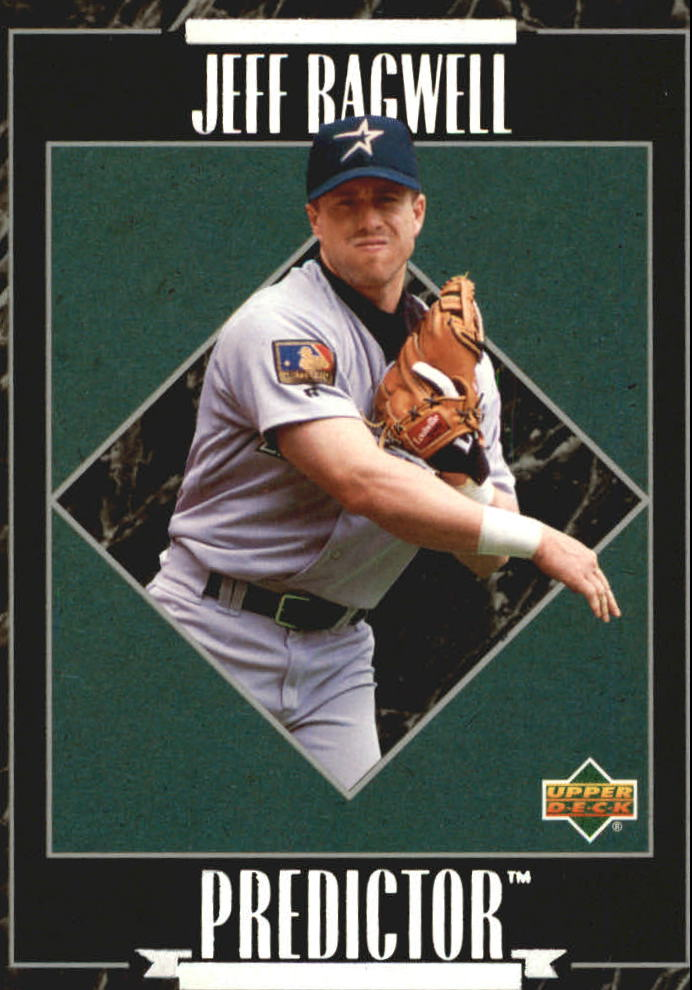 1995 Upper Deck Predictor League Leaders Exchange #R6 Jeff Bagwell