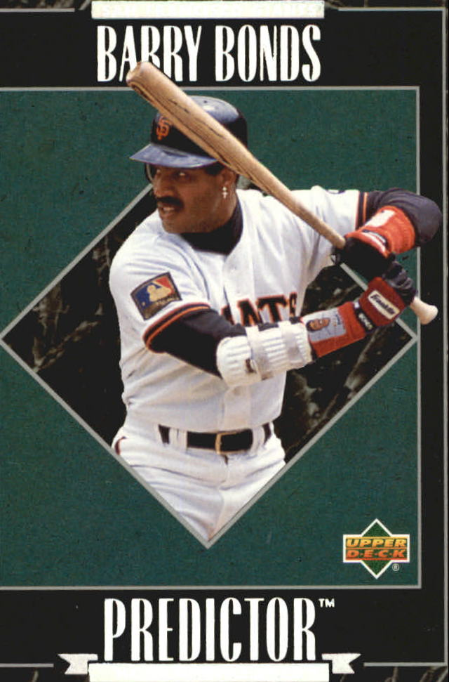 1995 Upper Deck Predictor League Leaders Exchange #R7 Barry Bonds