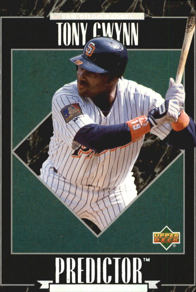 1995 Upper Deck Predictor League Leaders Exchange #R27 Tony Gwynn