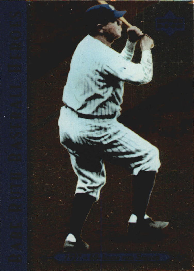 1995 Upper Deck Ruth Heroes #77 Babe Ruth/1927 60-home run Season