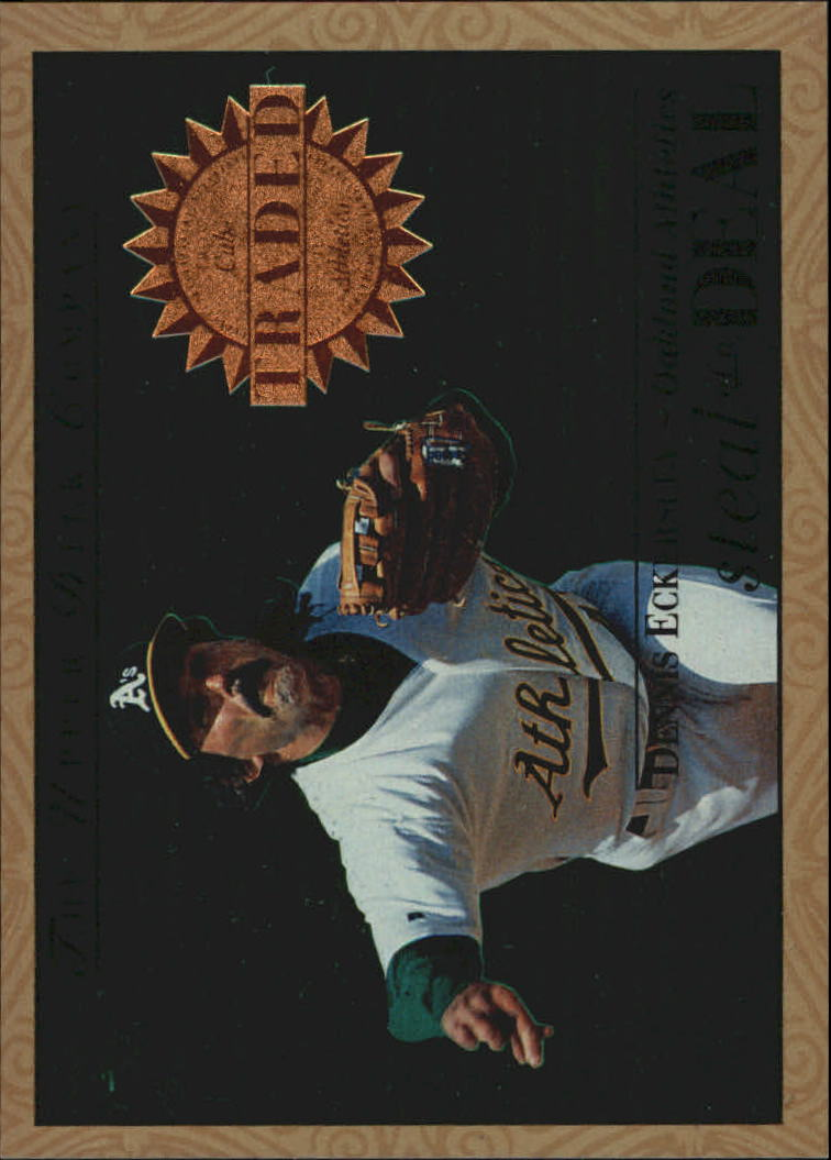 1995 Upper Deck Steal of a Deal #SD9 Dennis Eckersley