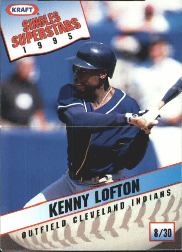 1995 Kraft #8 Kenny Lofton
