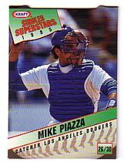 1995 Kraft #26 Mike Piazza