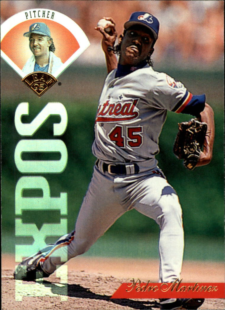 1995 Leaf #88 Pedro Martinez