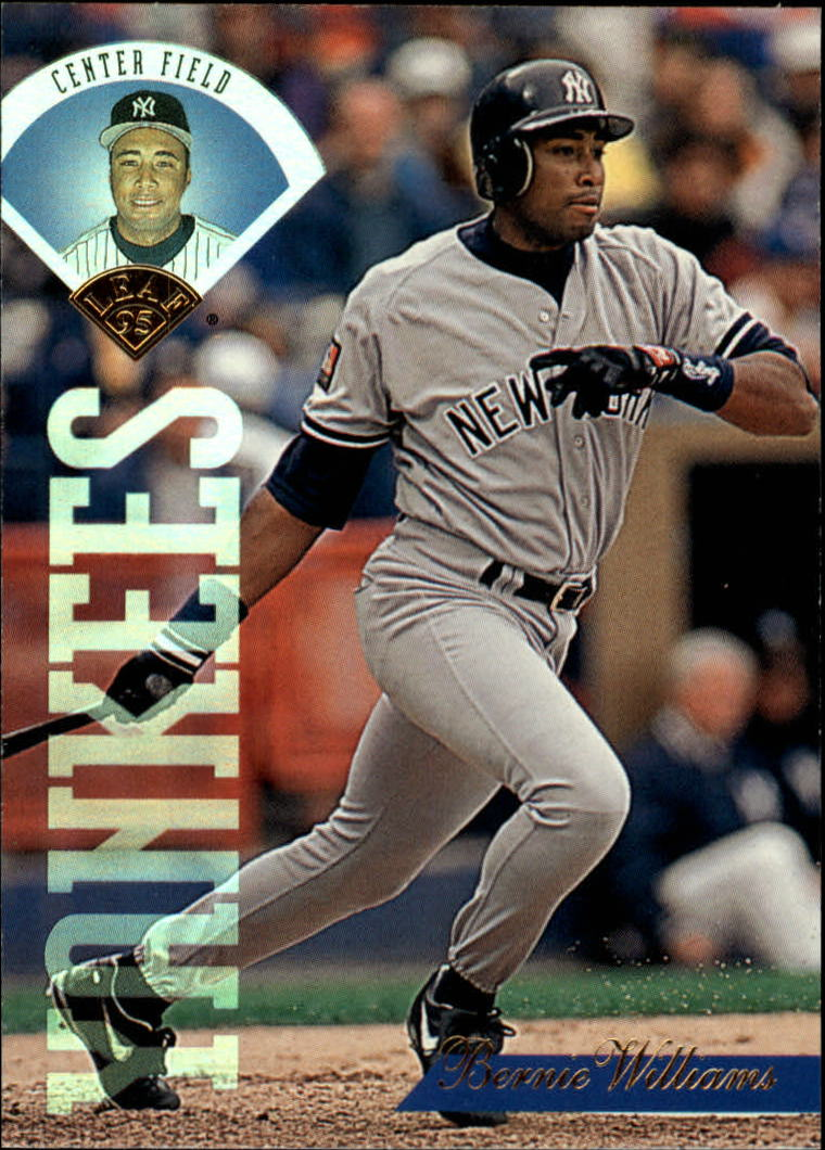1995 Leaf #105 Bernie Williams