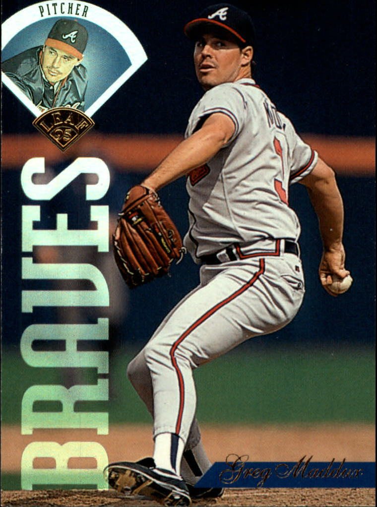 1995 Leaf #115 Greg Maddux