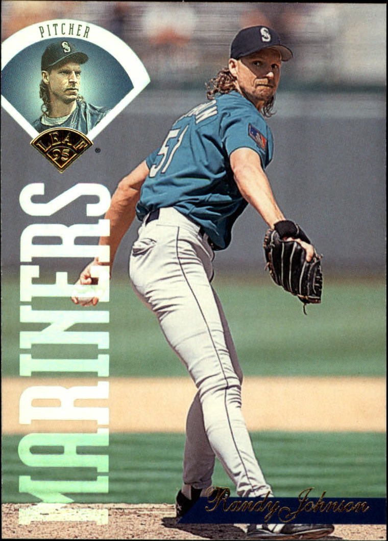 1995 Leaf #244 Randy Johnson