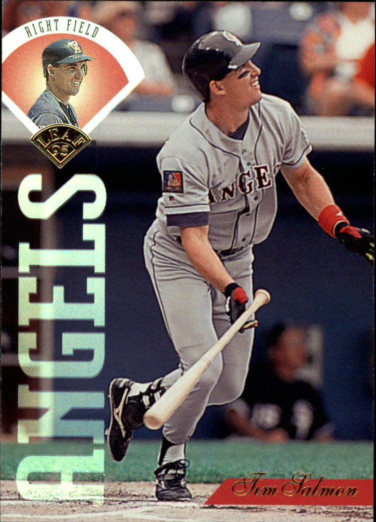 1995 Leaf #264 Tim Salmon
