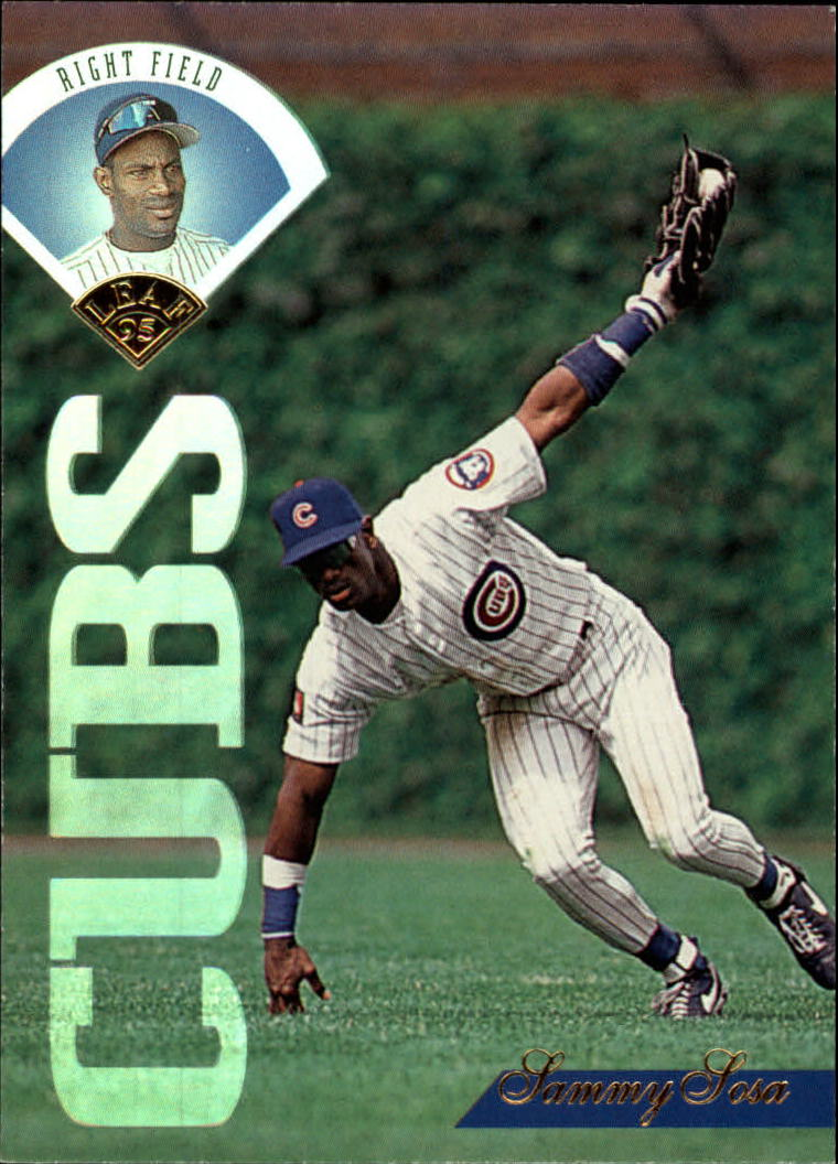 1995 Leaf #272 Sammy Sosa