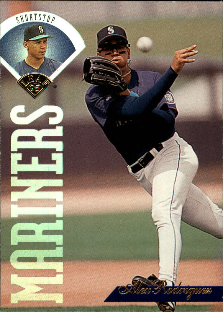 1995 Leaf #313 Alex Rodriguez