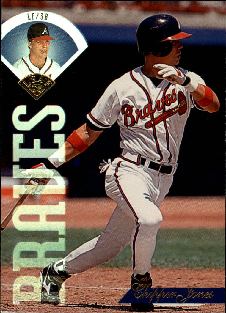 1995 Leaf #369 Chipper Jones