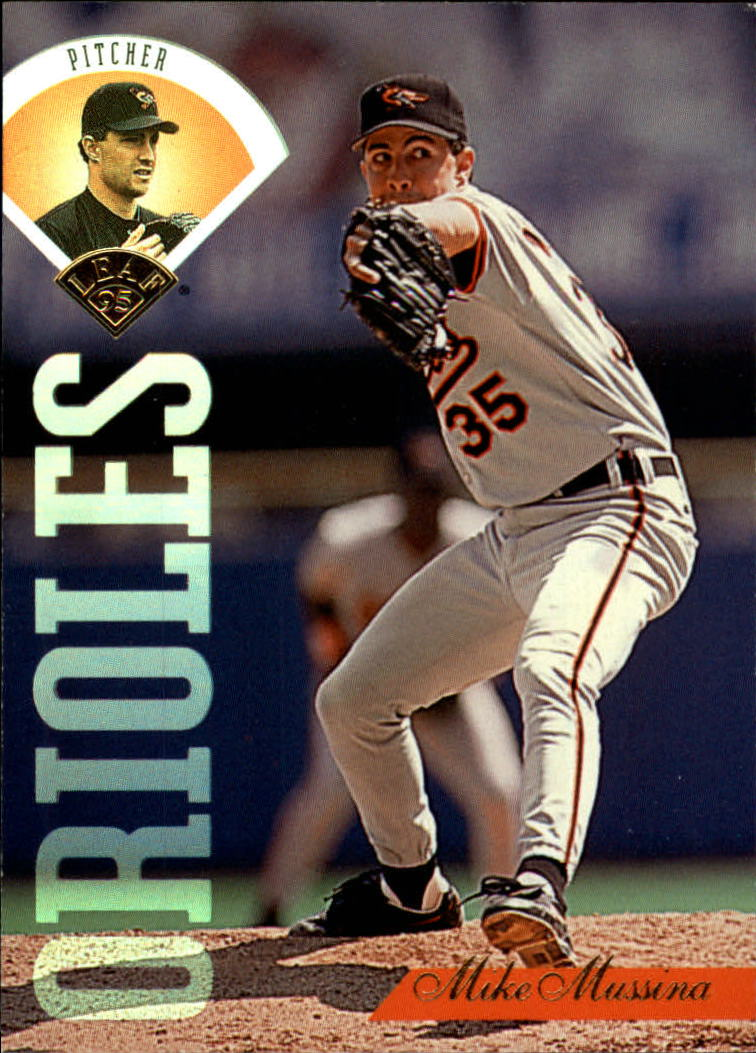 1995 Leaf #387 Mike Mussina