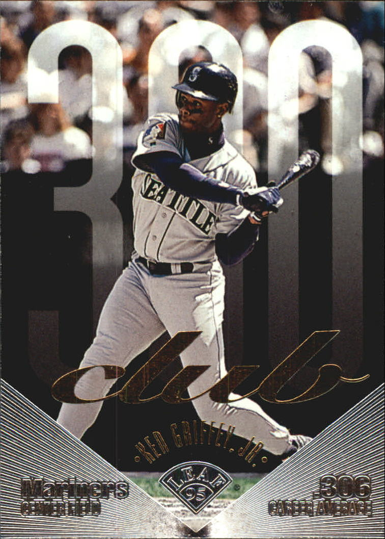 1995 Leaf 300 Club #10 Ken Griffey Jr.