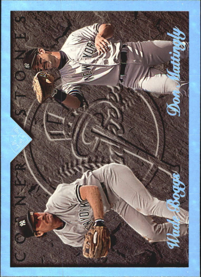 1995 Leaf Cornerstones #3 D.Mattingly/W.Boggs