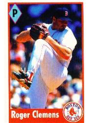 1995 Panini Stickers #14 Roger Clemens