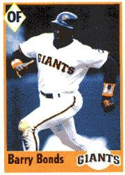1995 Panini Stickers #73 Barry Bonds