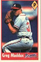 1995 Panini Stickers #120 Greg Maddux