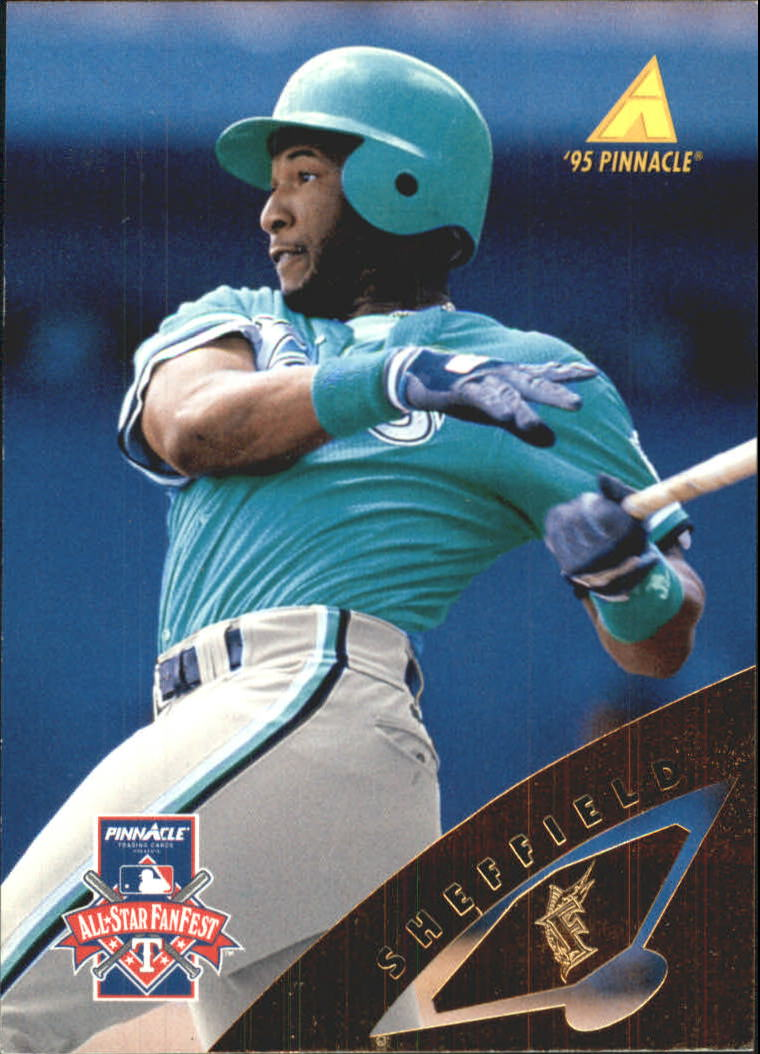 1995 Pinnacle FanFest #29 Gary Sheffield
