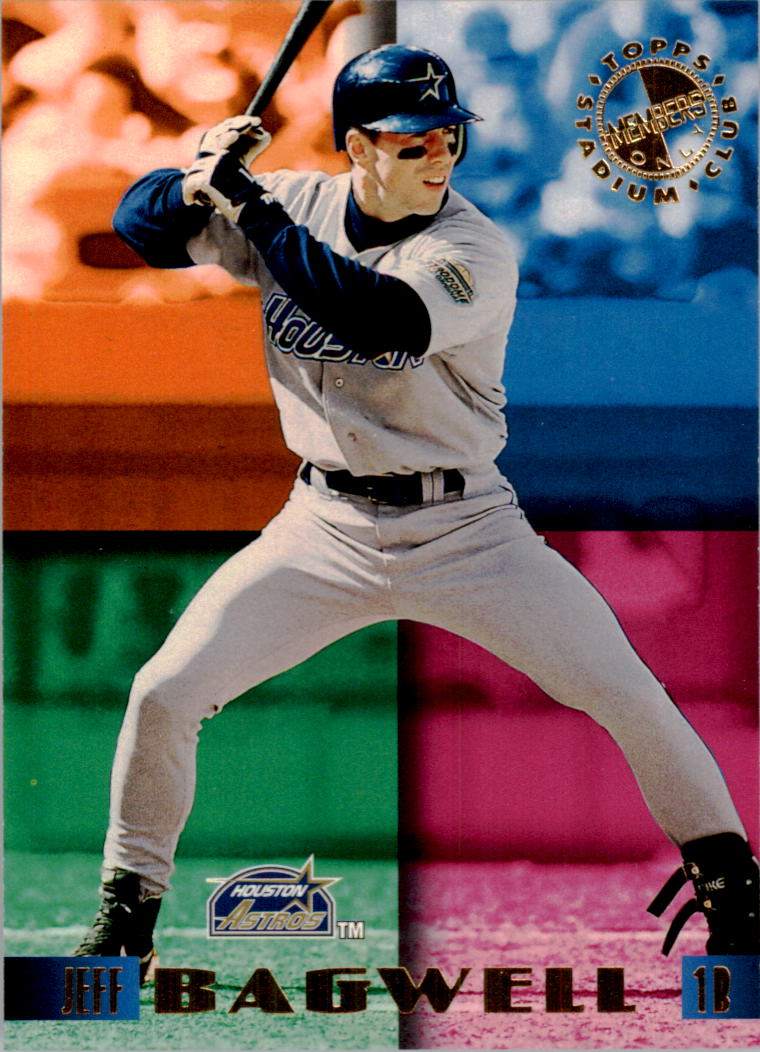 1995 Stadium Club Members Only 50 #2 Jeff Bagwell