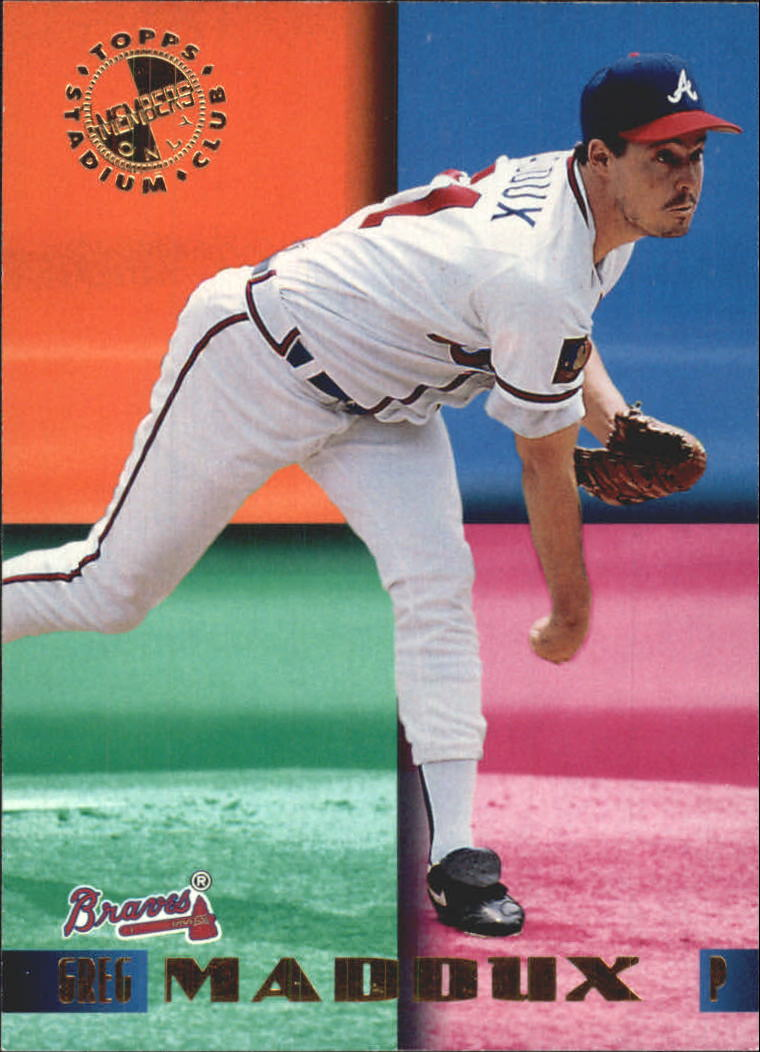 1995 Stadium Club Members Only 50 #30 Greg Maddux