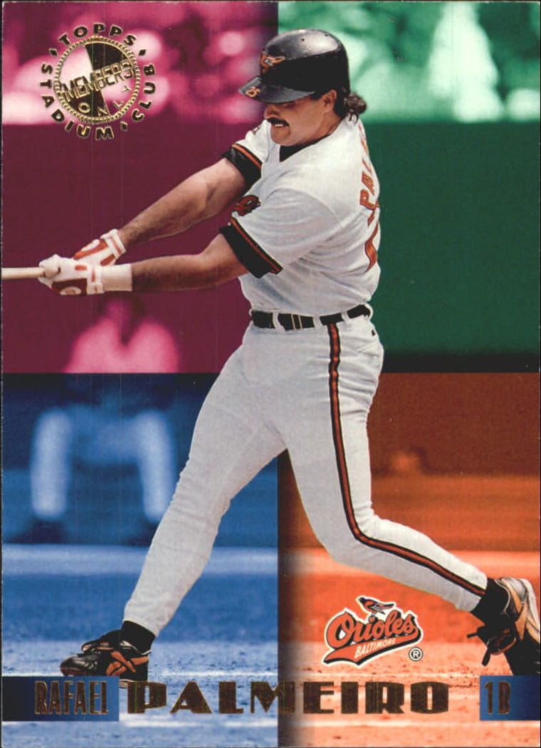 1995 Stadium Club Members Only 50 #36 Rafael Palmeiro