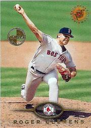 1995 Stadium Club Members Only Parallel #10 Roger Clemens