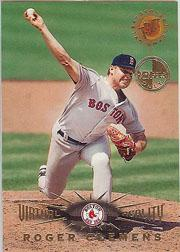 1995 Stadium Club Virtual Reality Members Only #5 Roger Clemens