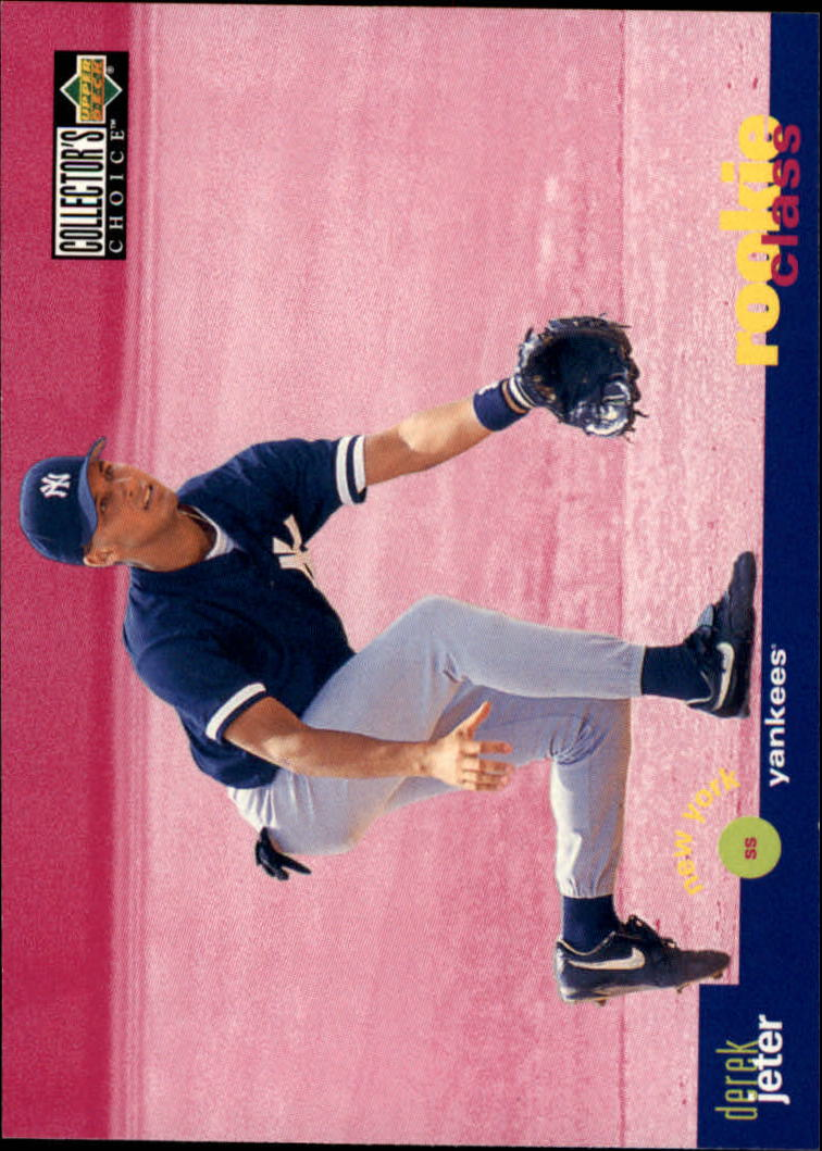 1995 Collector's Choice #15 Derek Jeter