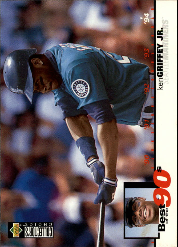 1995 Collector's Choice #62 Ken Griffey Jr. B90