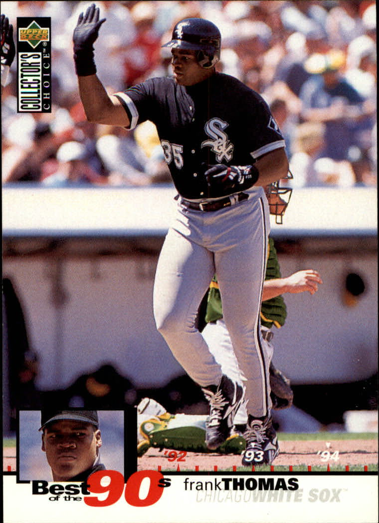 1995 Collector's Choice #64 Frank Thomas B90