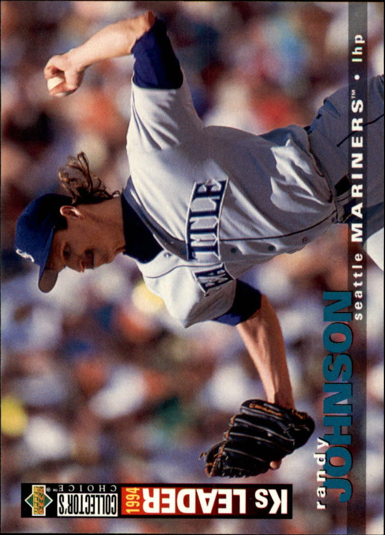 1995 Collector's Choice #74 Randy Johnson