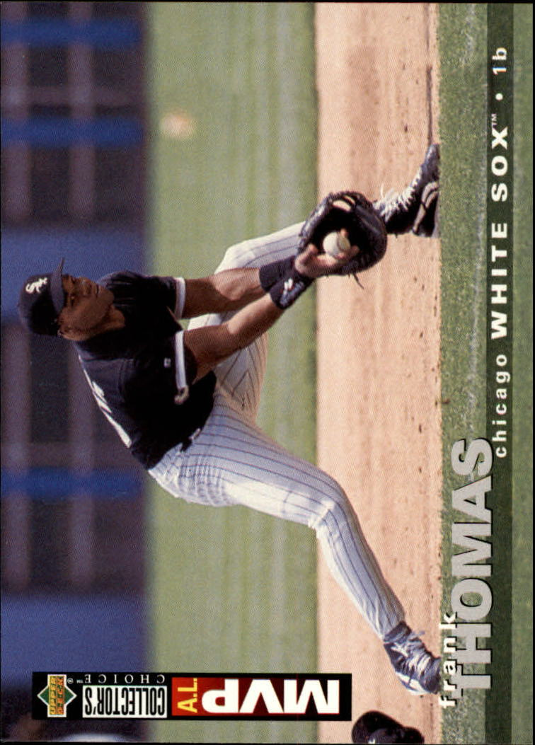 1995 Collector's Choice #75 Frank Thomas