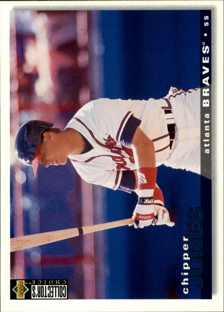 1995 Collector's Choice #154 Chipper Jones