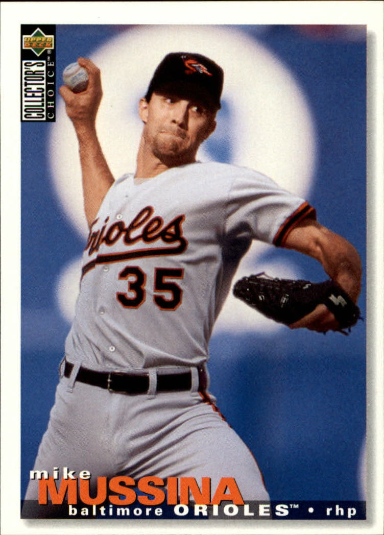 1995 Collector's Choice #340 Mike Mussina