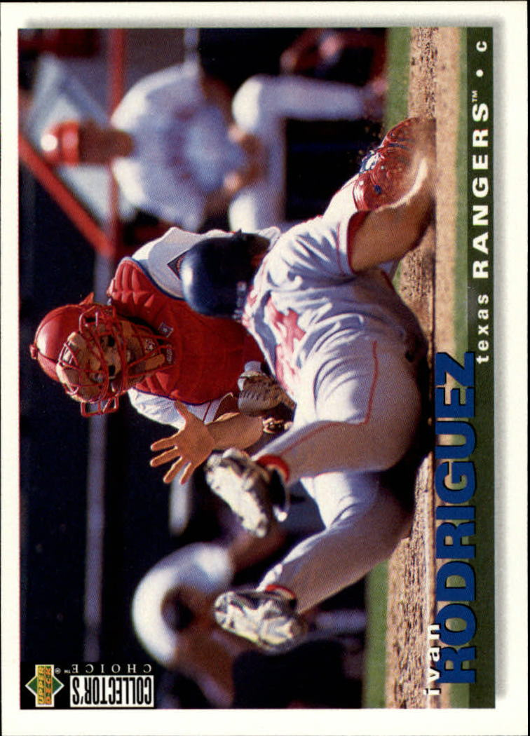 1995 Collector's Choice #391 Ivan Rodriguez